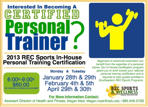 Ever thought about becoming a personal trainer? It's really fulfilling for both you and the client.