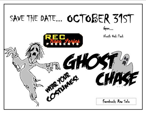 Fit, fresh and scary! Get ready for Ghost Chase!
