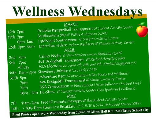 Wellness Wednesdays are here!